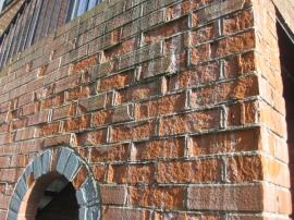 Spalling Brick
