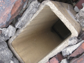 Deteriorated Chimney Components